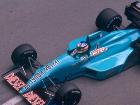 Para ser un monoplaza de 1988, el CG881 era realmente moderno y estilizado