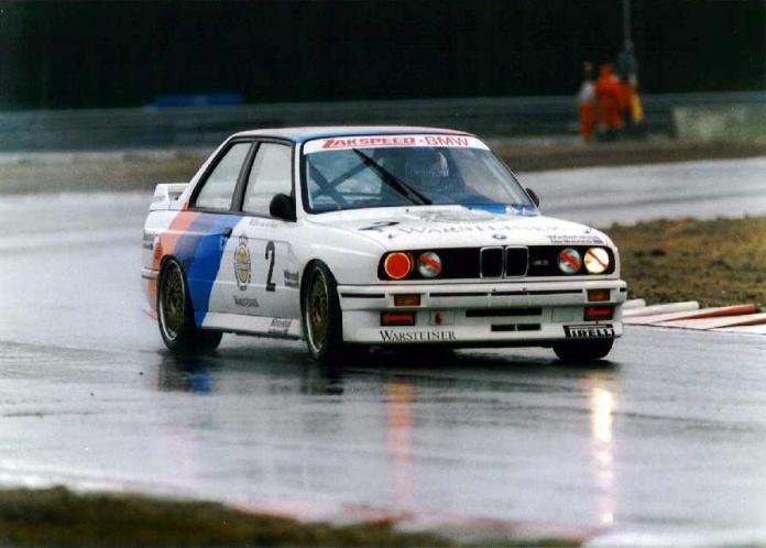 El triunfo en el DTM de 1987 fue una autentica sorpresa