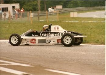 En la Formula Ford Belga en 1985