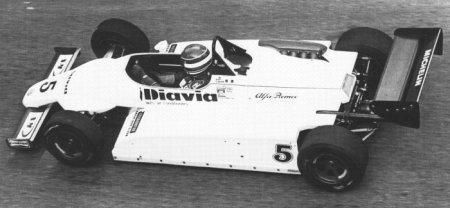 Una de las pocas e fotos de Capelli en 1984
