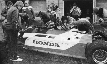El primer test de F1, el 24 de noviembre de 1982